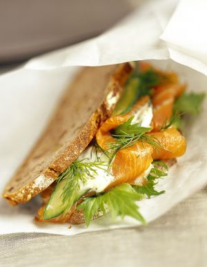 Yummy food - food ingredients - salmon sandwich.jpg