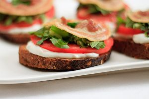 images of food - Classic BLT Sandwich with Garlic Mayo.jpg