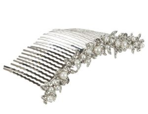 Bride on a budget - wedding list - John Lewis Row Of Pearls Hair Comb.jpg
