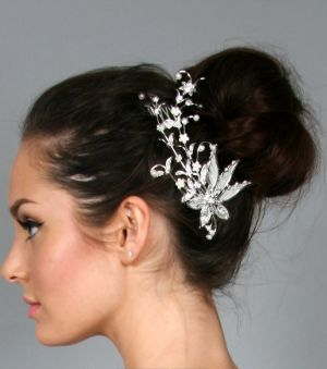 Budgeting a wedding - wedding dresses and accessories for less - Ever After Bridal Headpiece.jpg