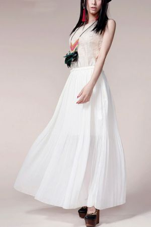 Budgets - Stylish wedding on a budget - Owl Embroidery Pleated Lap Ankle Length Dress.jpg