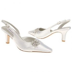 My wedding - bride to be - Dyeables Lori Shoes White - Womens Wedding Shoes.jpg