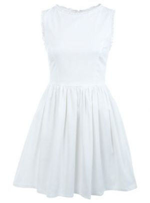 Reduce your wedding expenses - Budget ideas with style - Miss Selfridge White Lace Trim Dress.jpg