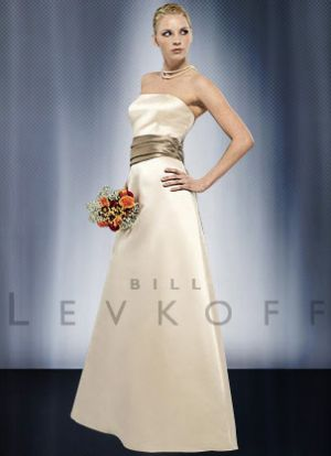 Reduce your wedding expenses - Budget ideas with style - Strapless Bill Levkoff Dress.jpg