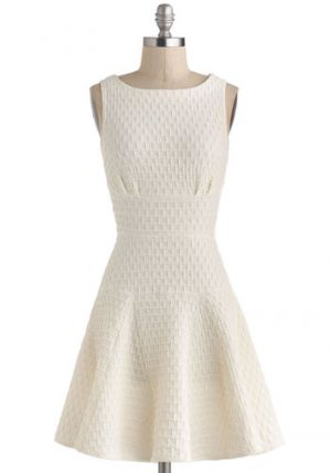 Wedding guide - The Perfect Thatch Dress in Cream - Modcloth.jpg