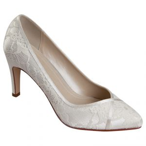 Wedding pictures - Rainbow Club Melanie Satin Lace Court Shoes Ivory.jpg