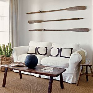 Beach house interiors pictures - sailor-chic-oars_coastal-living.jpg