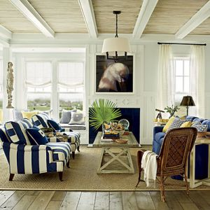 Beach house style - decorating site - mylusciouslife.com - via Coastal Living east-beach-living-room.jpeg