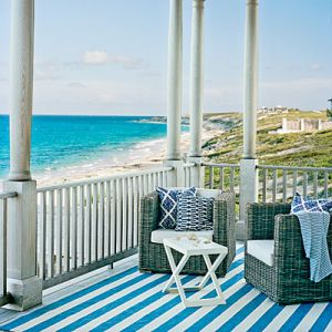 Coastal living beach house style - mylusciouslife.com - wicker-furniture.jpg