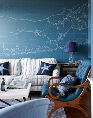Ideas for decorating your beach house - beach nautical themed decor.jpg