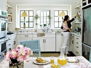 Interior design magazine - beach houses blog pictures - Ideas for decorating a beach house - beachy kitchen.jpg