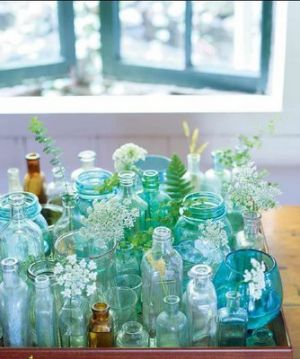 Interior design magazine - beach houses blog pictures - Luscious flowers and vases - Pictures of beach cottage interiors.jpg