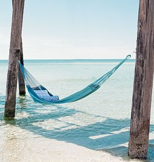 Pictures of beach houses - dream beach house - Hammock on beach.jpg