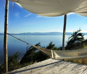 Pretty beach house photos - beach homes - houseandhome.com hammock.jpg