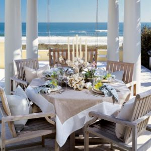 beach nautical themed decor - Beach house design photos - house decorating blog.jpg