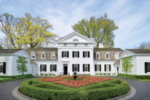 Greek Revival manor was created in the 1920s by architect David Adler Lake Forest.jpg