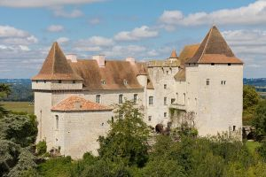 Pictures - historic homes -Garonne France former feudal fortress from the 12th century.jpg