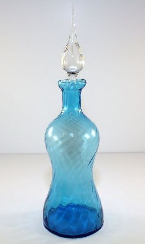 Antique Cobalt Glass Perfume Bottle Circa 1890.jpg