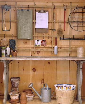 Stylish home laundries and mudrooms for Martha stewart garage organization