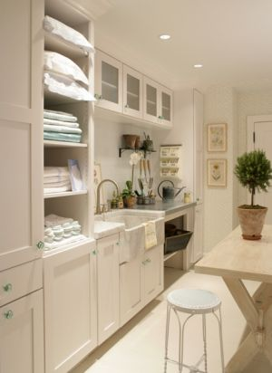 Laundries and mudrooms - mylusciouslife.com - laundry design