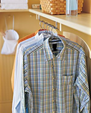 Laundry rooms and mudrooms - mylusciouslife.com - Martha laundry hanging ideas