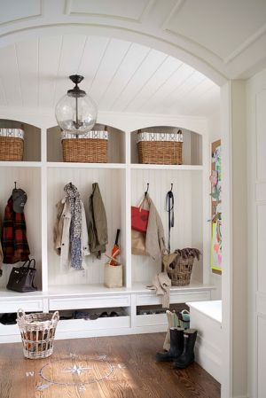 Laundry rooms and mudrooms - mylusciouslife.com - Muse Interiors mud room
