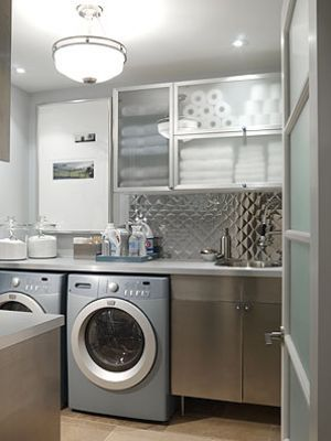 Laundry rooms and mudrooms - mylusciouslife.com - Sarah Richardson - laundry - season 1