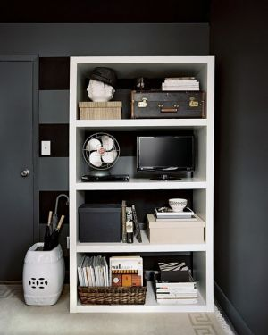 Home organisation ideas - mylusciouslife.com - Baskets and boxes via lonny.jpg