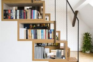 Home organisation ideas - mylusciouslife.com - via freshome.com stair storage ideas6.jpg