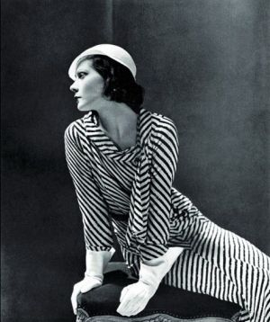 Exiled Russian princess Natalia Paley in Lucien Lelong dress for Vogue 1931 by George Hoyningen-Huene.jpg