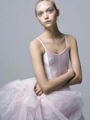 Gemma Ward in Think Pink for Vogue Italia April 2005 photographed by Steven Mesiel.jpg