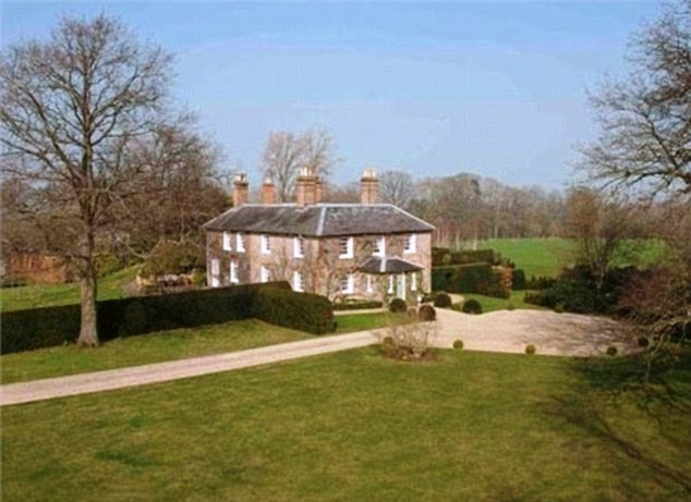 Royalty kate middleton s family home in bucklebury berkshire Middletons house bucklebury