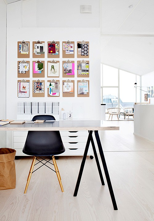 Design Ideas   Inspiration Board Via Decor8blog2 Industrial Style Home  Office ...