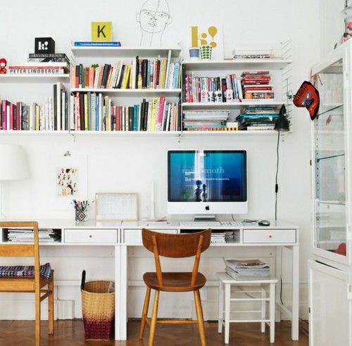 Home Office Space Ideas: Luscious Design: Inspiration To Decorate Your Office