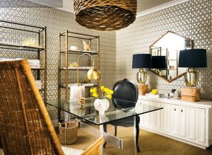 Camel and Navy home office via Atlanta Home Mag.jpg