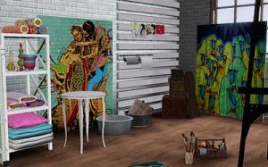 Eclectic artist studio  design ideas.jpg