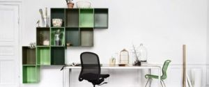 luscious office - green and white modern style decor.jpg
