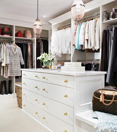 Luscious Style: Boudoirs, Walk-in Wardrobes, Closets