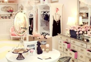... Luscious Bedroom Dressing Room Walk In Wardrobe Decor Ideas ...