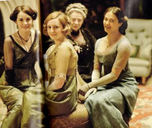 Downton Abbey - Dowager Countess Lady Mary Edith and Sybil - www.myLusciousLife.com.jpg