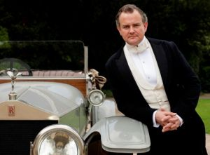 Downton Abbey - Hugh B with car - www.myLusciousLife.com.jpg