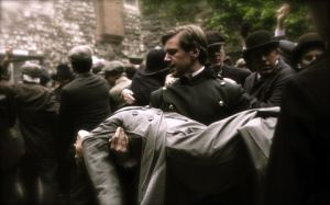 Downton Abbey - www.myLusciousLife.com - Branson_carrying_Sybil.jpg