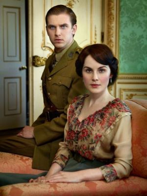 Michelle Dockery and Dan Stevens by Robert Trachtenberg.jpg