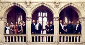 The cast of Downton Abbey - Vanity Fair by Jason Bell December 2011.jpg