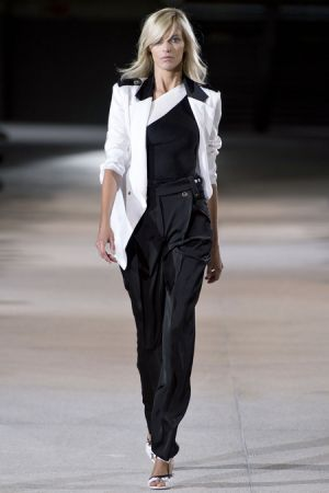 Black and white photos - Anthony Vaccarello Spring 2013 RTW Collection.JPG