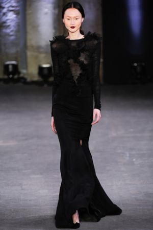 Black and white photos - Christian Siriano Fall 2012 Ready-to-Wear.jpg