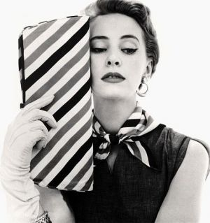 Vintage model with striped clutch.jpg