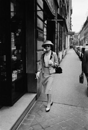 Coco Chanel on the street - Gabrielle Coco Chanel - mylusciouslife style icons .jpg