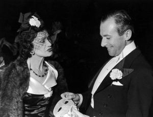 Coco Chanel pictures - chanel gabrielle - Coco Chanel at a masked ball.jpg
