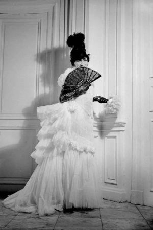 Older Coco Chanel pictures - Coco Chanel in a fancy dress costume.jpg